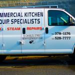 commercial kitchen repair truck