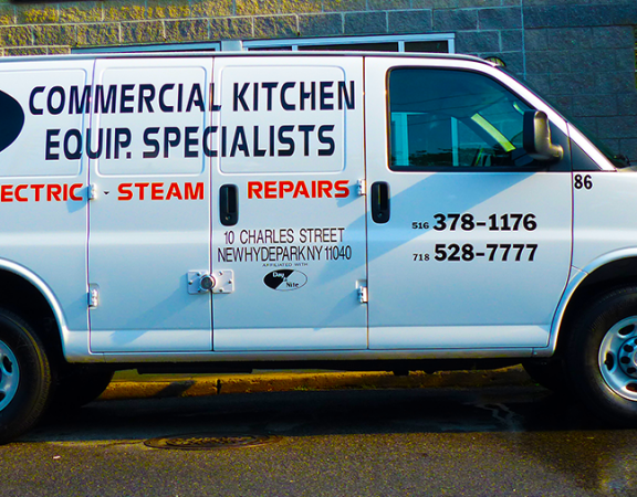 commercial kitchen repair truck
