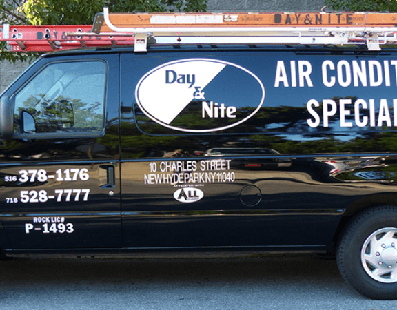 HVAC - truck - air conditioning repair