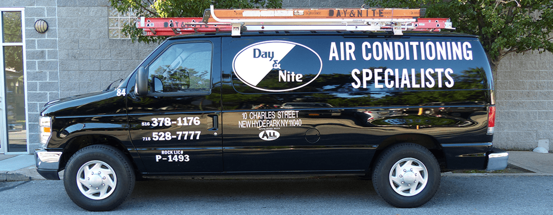 HVAC - truck - air conditioning repair